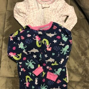 Carter's Footed Jammies, Sizes 3T/4T